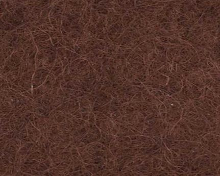 FELT SADDLE BROWN 16MM X 1.8M