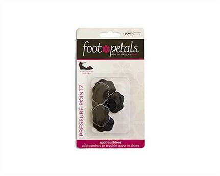 FOOT PETALS PRESSURE POINT BLACK (3 PR)