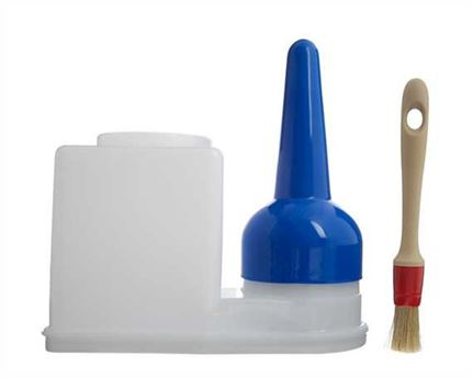 GLUE POT 0.9 LITRE  (INCLUDES BRUSH)