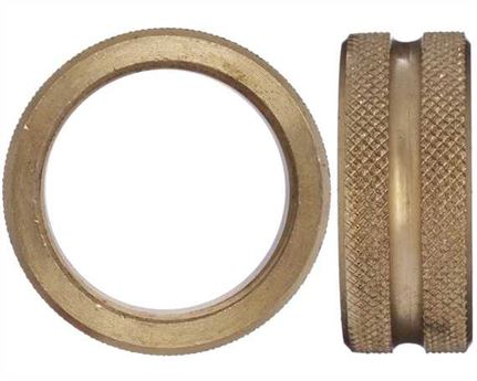 BRASS RING NUT FOR EXPANDING WHEEL