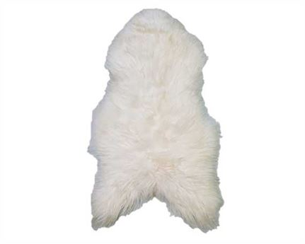 HAIR ON LAMB ICELANDIC WHITE PER HIDE