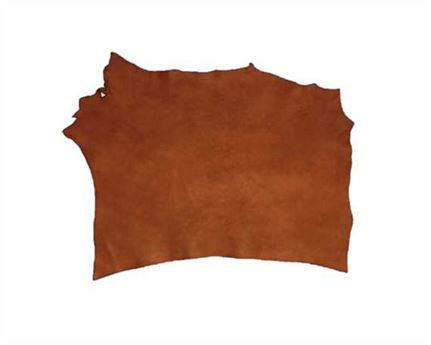 VEG DOUBLE SHOULDER NATURAL MILLED 3.6/3.8MM LEATHER FROM TUSCANY ITALY