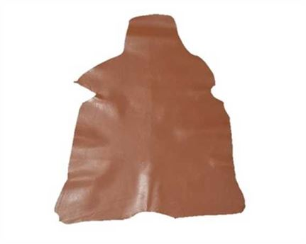 KID SKIN GLAZED TAN 0.6/0.8MM LEATHER FROM SPAIN