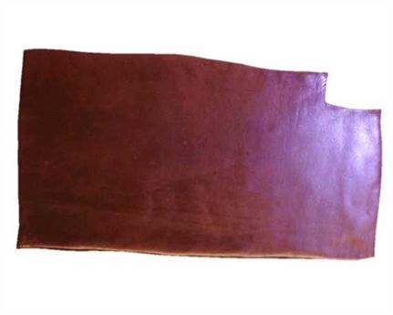 VEG BUFFALO SINGLE BUTT 3.5MM DARK TAN LEATHER GREAT FOR BELTS OR DOG LEADS