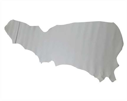COW SIDES UPPER 2.0/2.2MM WHITE LEATHER FROM BRAZIL