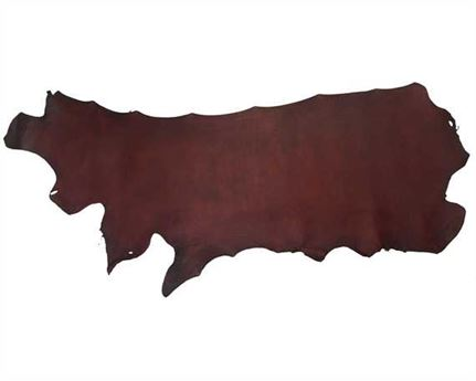 MORGAN OAK U.S SIDES 1.6/2.4MM REDHIDE ALUM TANNED LEATHER