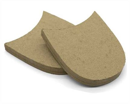 LEATHERBOARD HEEL BLOCK LARGE