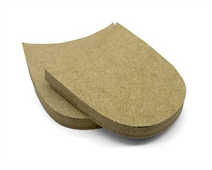 LEATHERBOARD HEEL BLOCK MEDIUM 42/43