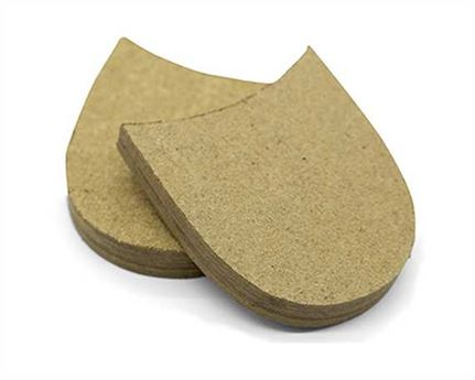 LEATHERBOARD HEEL BLOCK SMALL