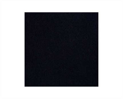 183CM WIDE BLACK PLAIN WOOL KERSEY  RPC10