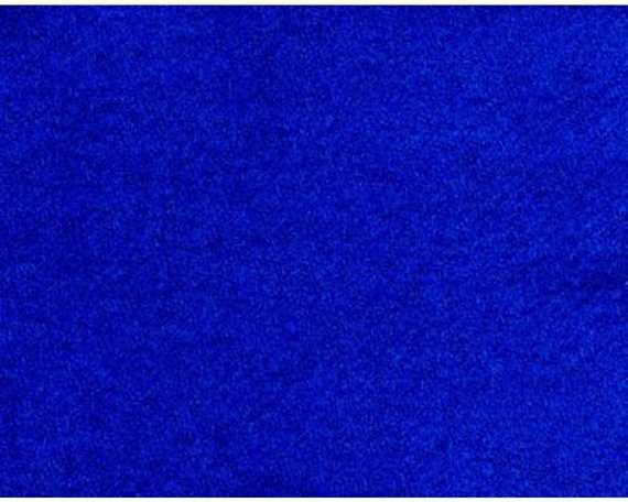 ROYAL BLUE PRE CUT RUG WOOL