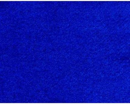 FABRIC 100% WOOL SERGE ROYAL BLUE 183CM WIDE PER L/M
