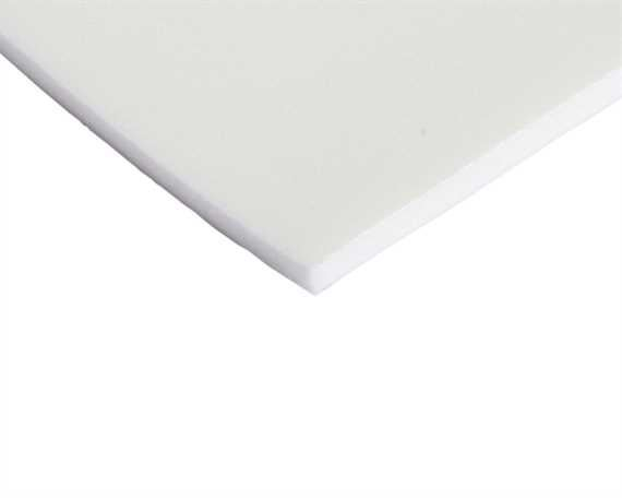THERMOFOAM 6MM WHITE 600MM TALL (PER LINEAL MTR)