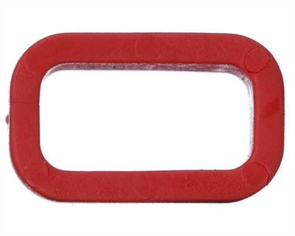 PLASTIC KEEPER 13MM RED FOR APOLLO STRAPPING