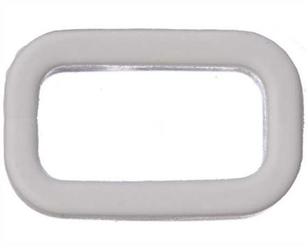 PLASTIC KEEPER 13MM WHITE FOR APOLLO STRAPPING