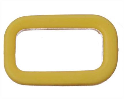 PLASTIC KEEPER 13MM YELLOW FOR APOLLO STRAPPING