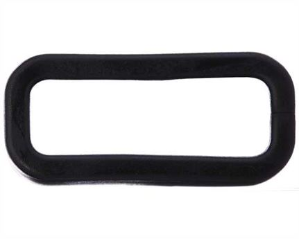 PLASTIC KEEPER 19MM BLACK FOR APOLLO STRAPPING