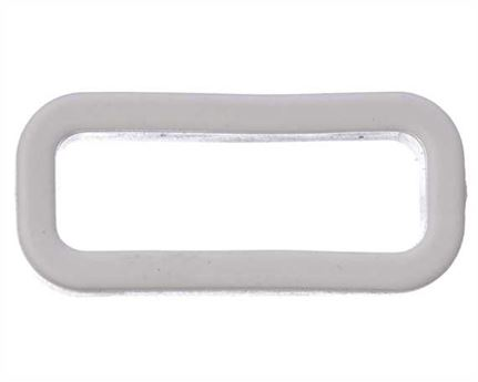 PLASTIC KEEPER 19MM WHITE FOR APOLLO STRAPPING