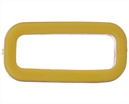 PLASTIC KEEPER 19MM YELLOW FOR APOLLO STRAPPING