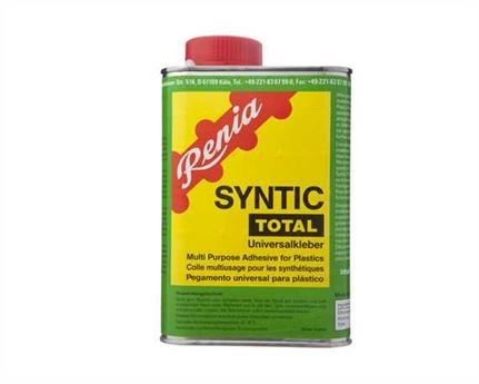 RENIA SYNTIC TOTAL GLUE 1 LITRE (850GMS) CAN WITH BRUSH