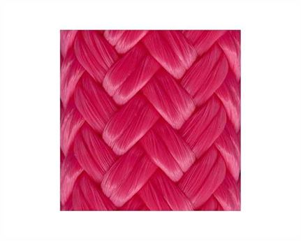 10MM DOUBLE BRAID MARINE ROPE SOLID PINK