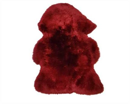 SHEEP CLIP LONG BURGUNDY