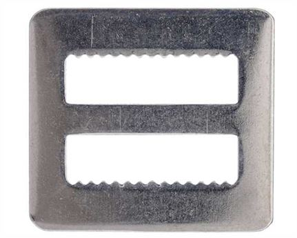 SLIDE FLAT SERRATED NICKEL PLATE