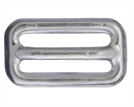 SLIDE AUSTRALIAN STYLE HOLLOW FRICTION NICKEL PLATE 25MM