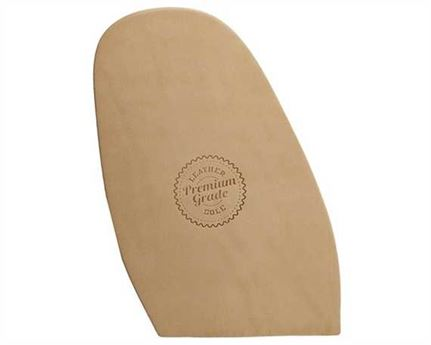 PREMIUM GRADE LEATHER HALF SOLES NATURAL FINISH 5.5MM MEN'S 14