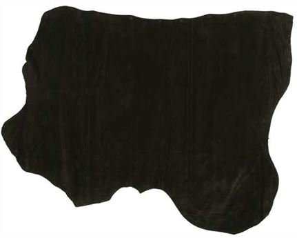 HEAVY D/B APRON SPLIT 2-2.2MM   BLACK (SQFT)