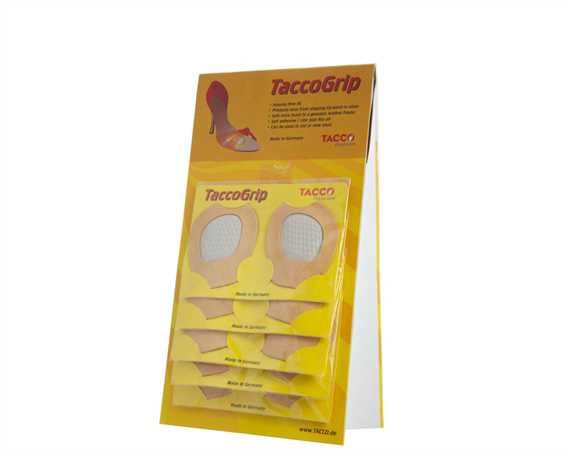 TACCO CARDS FOOTGRIPS (12 PAIRS PER CARD)