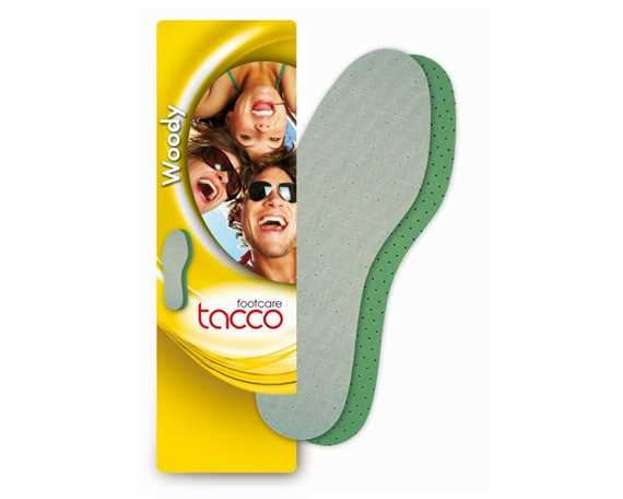 TACCO WOODY LATEX FULL SOLE FRESH SCENT, SIZE 35