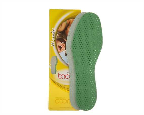 TACCO WOODY LATEX FULL SOLE FRESH SCENT SIZE 38