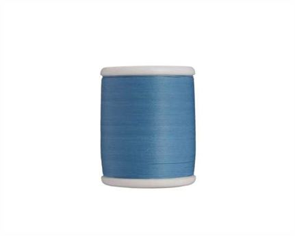 NO 10 COTTON THREAD 500MT SPOOL LIGHT BLUE (147)