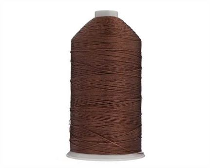 THREAD NYLON BONDED #8 BROWN (REPLACES #7)