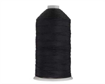#10 BONDED NYLON THREAD 1500M SPOOL BLACK