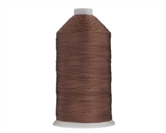 THREAD NYLON BONDED #10 BROWN 1500M SPOOL
