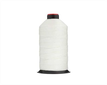 #10 BONDED NYLON THREAD 750M SPOOL WHITE