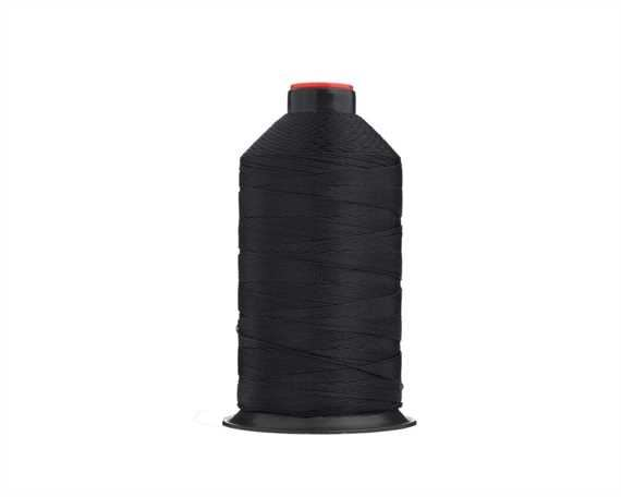 THREAD NYLON BONDED #13 BLACK 900M SPOOL