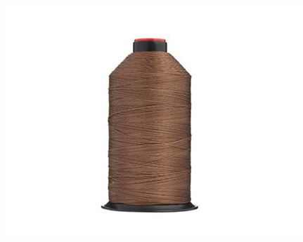 #13 BONDED NYLON THREAD 900M SPOOL BROWN H21