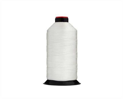 #13 BONDED NYLON THREAD SPOOL WHITE (UB)
