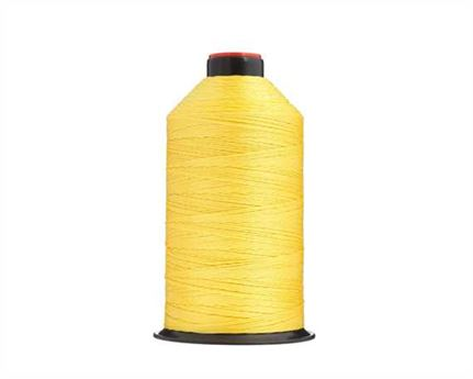 #13 BONDED NYLON THREAD 900M SPOOL YELLOW