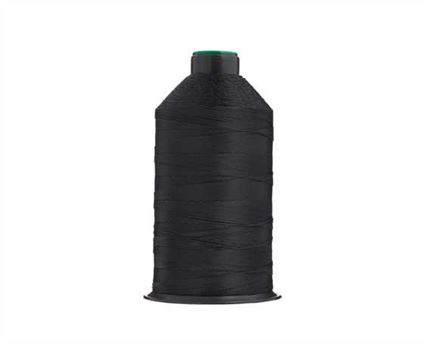 #20 BONDED NYLON THREAD 1500M SPOOL BLACK