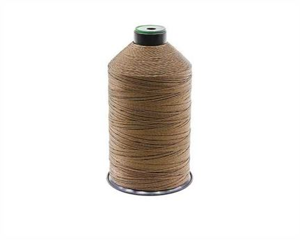 #20 BONDED NYLON THREAD 1500M SPOOL DARK BROWN2