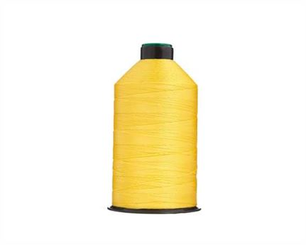 #20 BONDED NYLON THREAD 1500M SPOOL H13 YELLOW