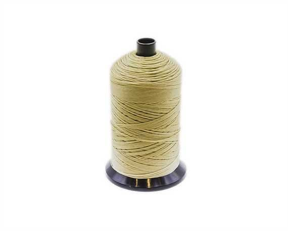 THREAD NYLON BONDED #40 BEIGE U8218 500M SPOOL