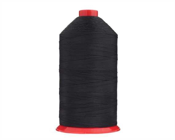 THREAD TERKO POLYCOTT #12 BLACK 2500M SPOOL