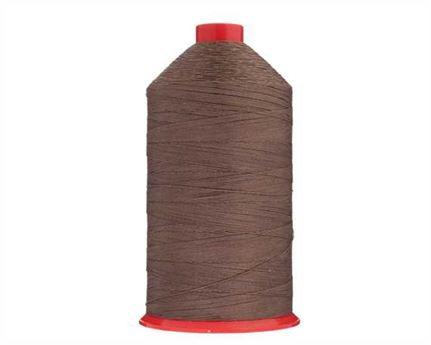 #12 TERKO POLYCOTT THREAD 2500M SPOOL BROWN H27