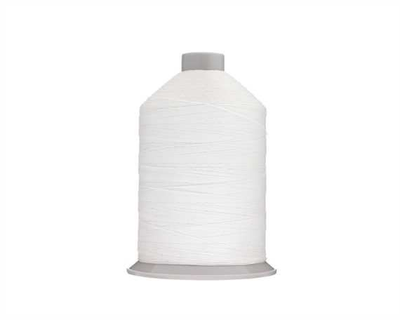 THREAD TERKO POLYCOTT #20 WHITE 1759 2500M SPOOL