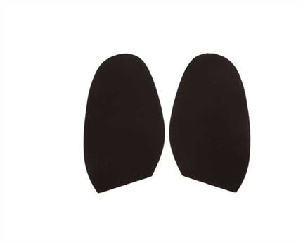TOPY SOLING RUBBER AUSY 1.8MM (PR) CUT TO SIZE LADIES 3-4 BROWN